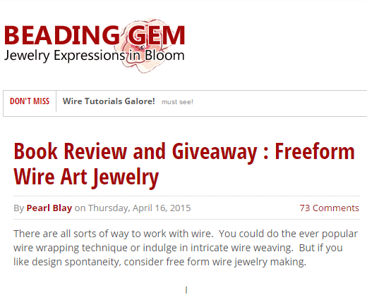 Review & Giveaway: Beading Gems
