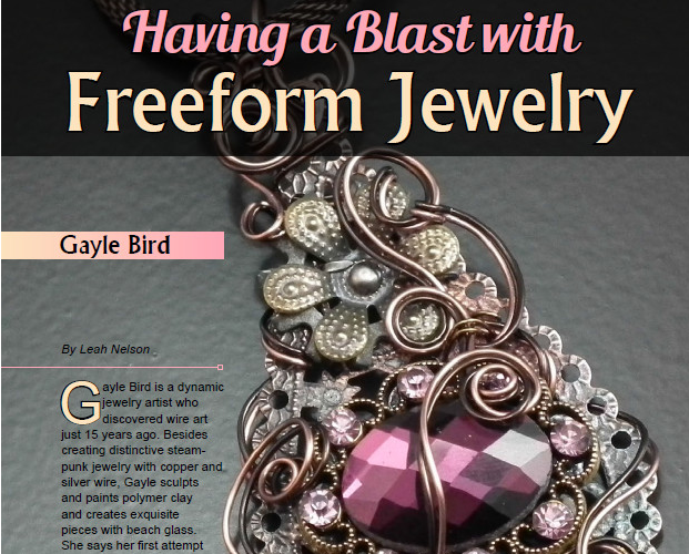 Freeform Jewelry Featured Artist